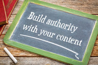 Build authority with your content