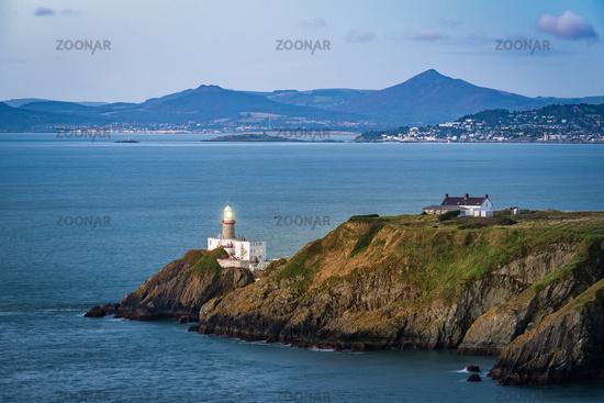 Howth lighthouse before sunrise