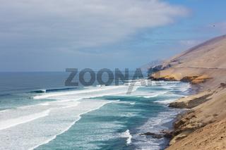Coast in Peru