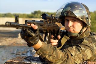 Portrait of sniper Portrait of sniper