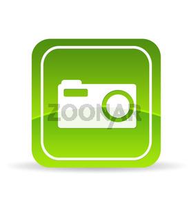 Green Digital Camera Icon