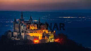 Die Burg Hohenzollern