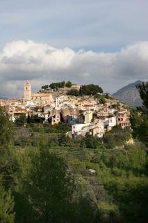 Polop. Spain