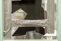 Shards of a broken window