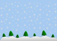 illustration winterlandschaft