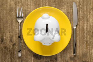 Savings consumer concept