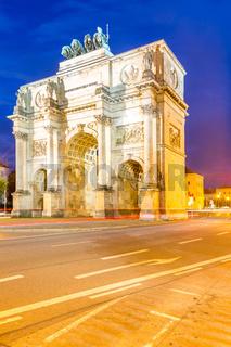 Victory Arch in Munich