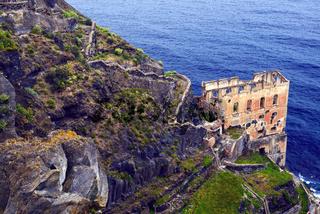 Ruine der Caasa Hamilton Teneriffa, Kanarische Inseln, Spanien