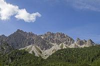 Erlspitz mountains in Tyrol