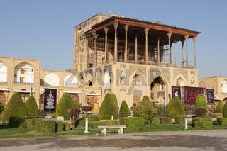 Ali Qapu Palast, Isfahan, Iran, Asien