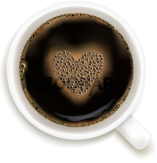 Cup Of Coffee With Prediction of Love