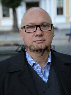 Oliver Kirchner ( AfD Sachsen-Anhalt, MdL) auf der Wahlkampfveranstaltung am 12.09.2017 in Magdeburg