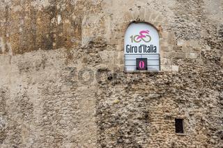 Start des Giro d'Italia in Alghero, Sardinien