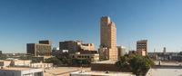 Abilene Texas Downtown City Skyliine Late Summer Weekend Afternoon