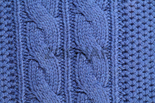 Unusual abstract knitted background texture