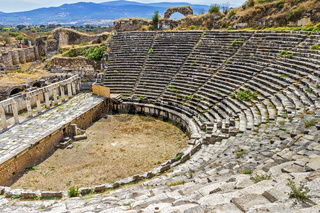 Amphitheater Of Aphrodisias,  Anatolia Turkey