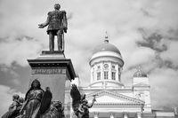 Alexander II Monument in Helsinki,