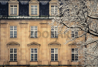 Snowy Luxury Mansion House