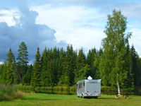 Motorhome in Värmland in Sweden