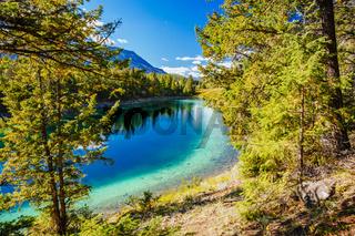 Third Lake, Valley of the 5 Lakes, Jasper National Park, Alberta, Canada