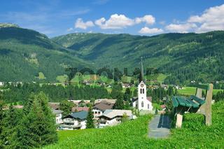 Urlaubsort Riezlern im Kleinwalsertal,Vorarlberg,Oesterreich