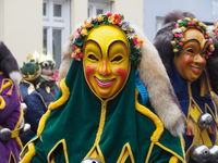Port-Fools - Figure of the Swabian-Alemannic Fasnet