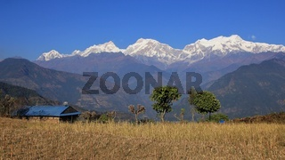 Manaslu range, mountain range in Nepal