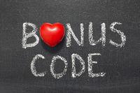 bonus code