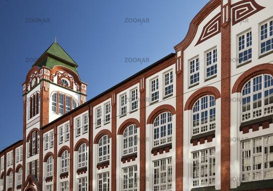 building of former concer Dornbusch, Bielefeld, North Rhine-Westphalia, Germany, Europe