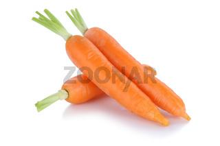 Karotten Möhren Karotte Möhre Gemüse Freisteller freigestellt isoliert