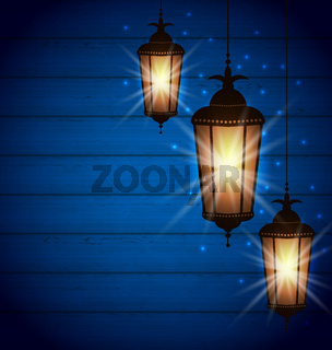 Set Arabic Lamps for Holy Month of Muslim Community