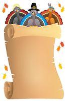 Thanksgiving theme parchment 9