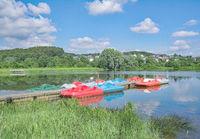 Village of Stahlhofen am Wiesensee,Westerwald,Rhineland-Palatinate,Germany