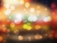 Bokeh evening Lights