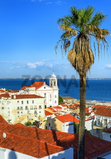 View over roofs of Alfama