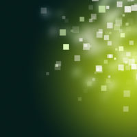 Abstract eco square background design illustration with space for your text