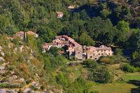 Navacelles im Süden Frankreichs - Navacelles, Herault southern France