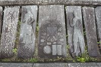 Medieval grave plates at Kilmartin