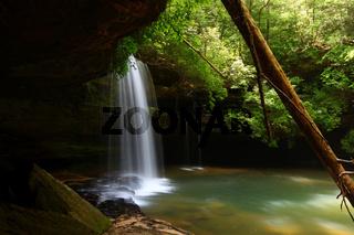 Caney Creek Falls in Alabama