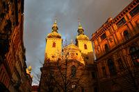 Church of St. Havel in Prague, Czech Republic