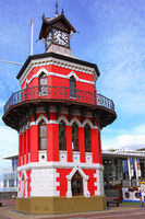 clock tower at the Waterfront, Cape Town, South Africa