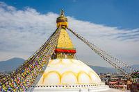 Boudhanath stupa in Kathmandu