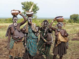 Mursi, Äthiopien, Afrika