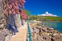 Lungomare coast famous walkway in Opatija