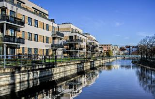 Wohnen am Tegeler Hafen in Berlin