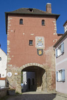 Gate tower in Laaber