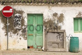 Hausfassade in Cavacos