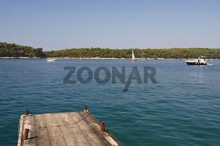 Bucht   Bay Sv. Eufemija, Rab