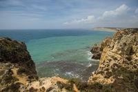 Bay between Ponta da Piedada and Porto de Mos