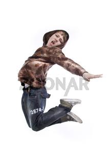 Junge springt wd710